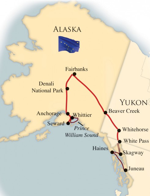 Alaska Grand Tour 171 R Amp J Tours