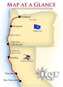 Northern California Amp Oregon 171 R Amp J Tours