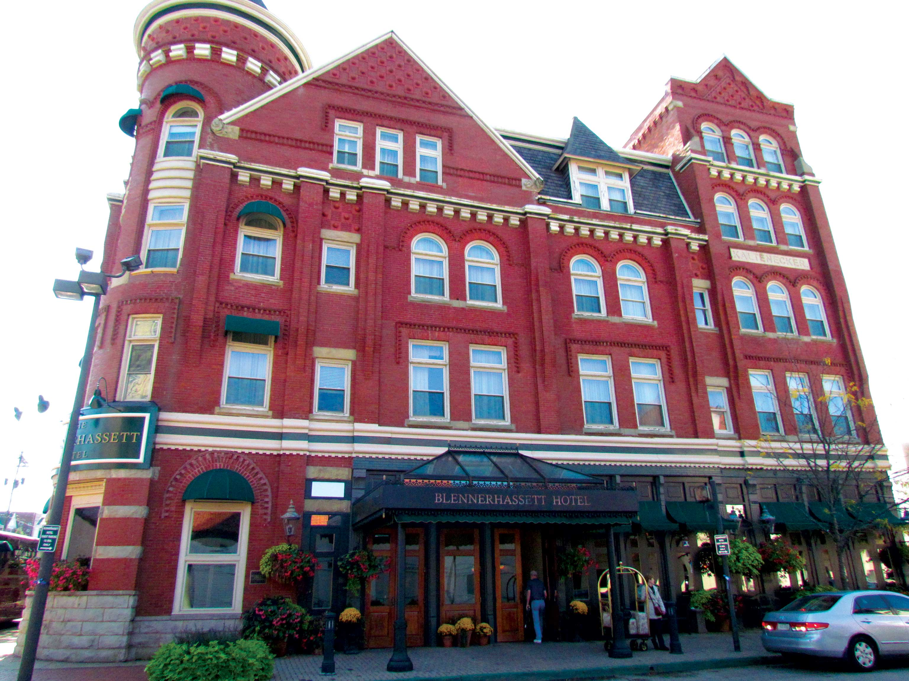 ¿Cuáles son las habitaciones y el hotel Blennerhassett Blennerhassett (Desde)