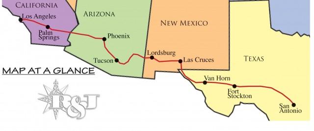 I-10 Part 2: The Wonderful Wild West, Los Angeles to San ... Map Of Interstate Arizona on map of blythe arizona, map of loop 101 arizona, map of mobile arizona, map of arizona arizona, map of i-40 arizona, map of phoenix arizona, map of tucson arizona, map of loop 202 arizona,
