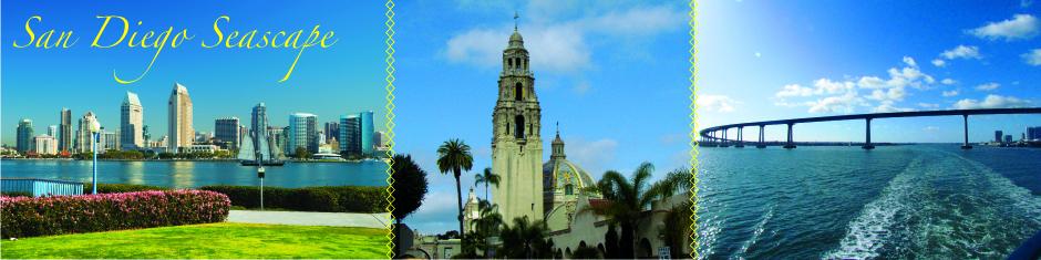San Diego Seascape web banner