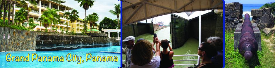 Panama City, Panama web banner