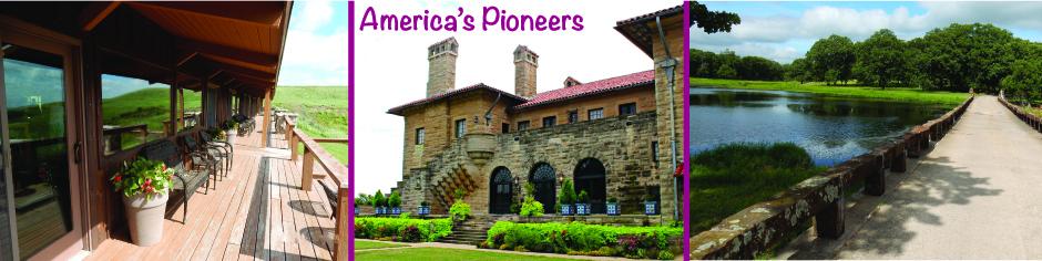 America's Pioneers web banner